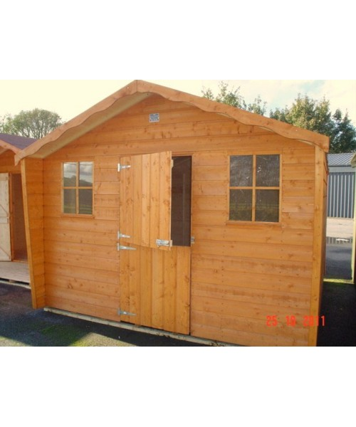 16ft x 10ft cabin shed range garden sheds for sale for Garden shed january sale