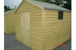 8ft x 8ft Budget Shed