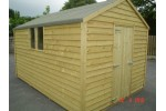 8ft x 12ft Budget Shed