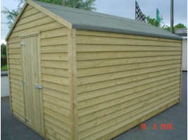 8ft x 16ft Budget Shed