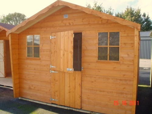 10ft x 8ft Cabin Shed
