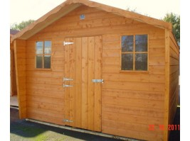18ft x 8ft Cabin Shed