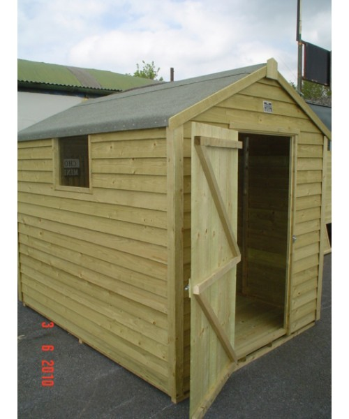 8ft x 6ft budget shed garden sheds for sale for Garden shed january sale