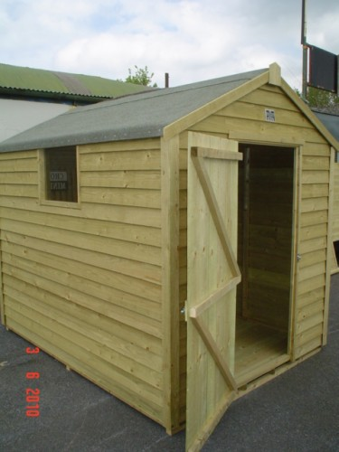 8ft x 6ft Budget Shed