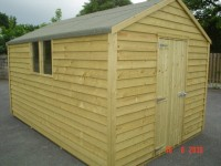 10ft x 20ft Budget Shed