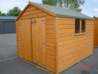 8ft x 12ft Superior Shed