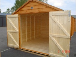 8ft x 10ft Superior Shed