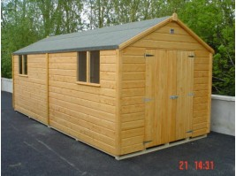 10ft x 20ft Superior Shed