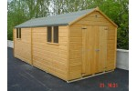 10ft x 18ft Superior Shed