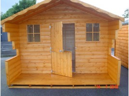 8ft x 18ft Lodge