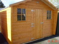 12ft x 8ft Cabin Shed