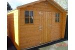 10ft x 10ft Cabin Shed