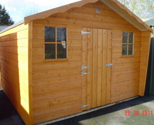 14ft x 8ft Cabin Shed