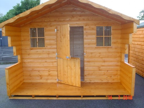 8ft x 12ft Lodge