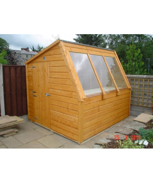 8ft x 8ft potting shed garden sheds for sale for Garden shed january sale