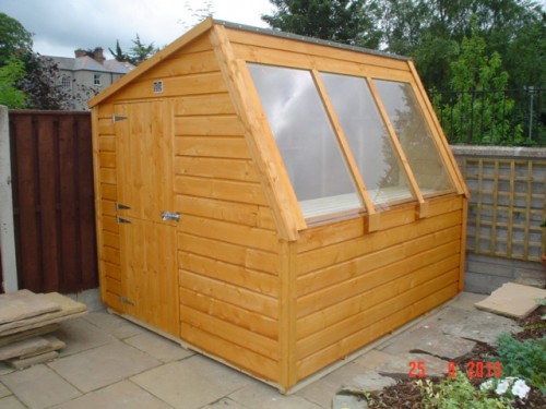 8ft x 8ft potting shed garden sheds for sale