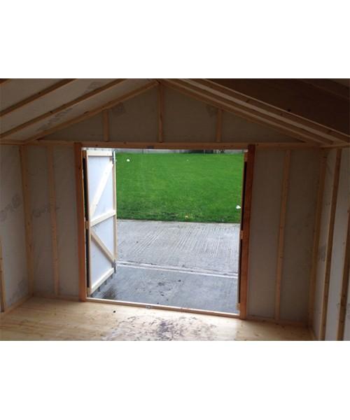 Garden Sheds Kilkenny 10ft x 20ft black steel garden shed | garden sheds for sale