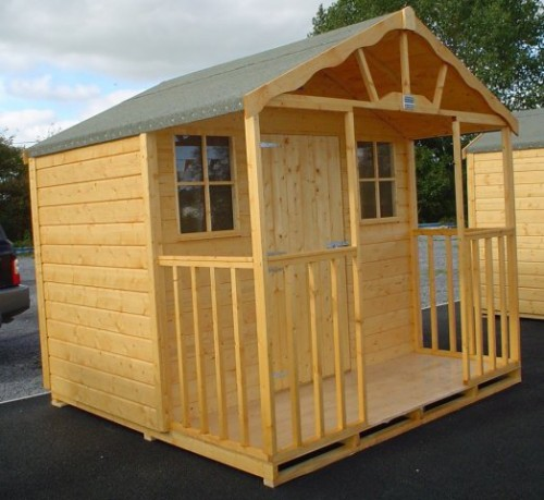 8ft x 18ft Summer House