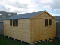 8ft x 16ft Superior Shed